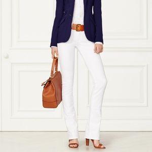 RALPH LAUREN 380 collection modern white Jeans